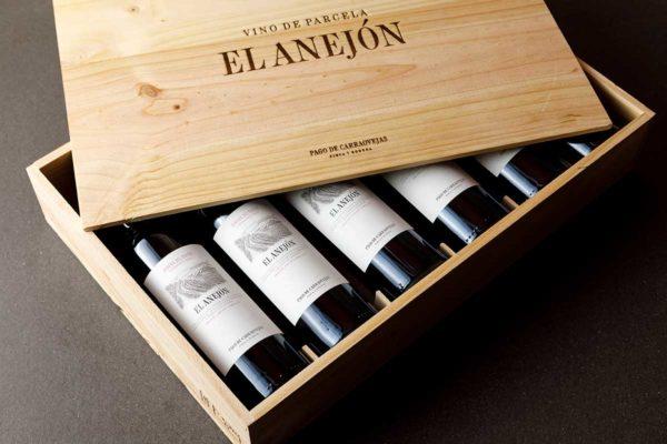 El Anejón madera 6 botellas